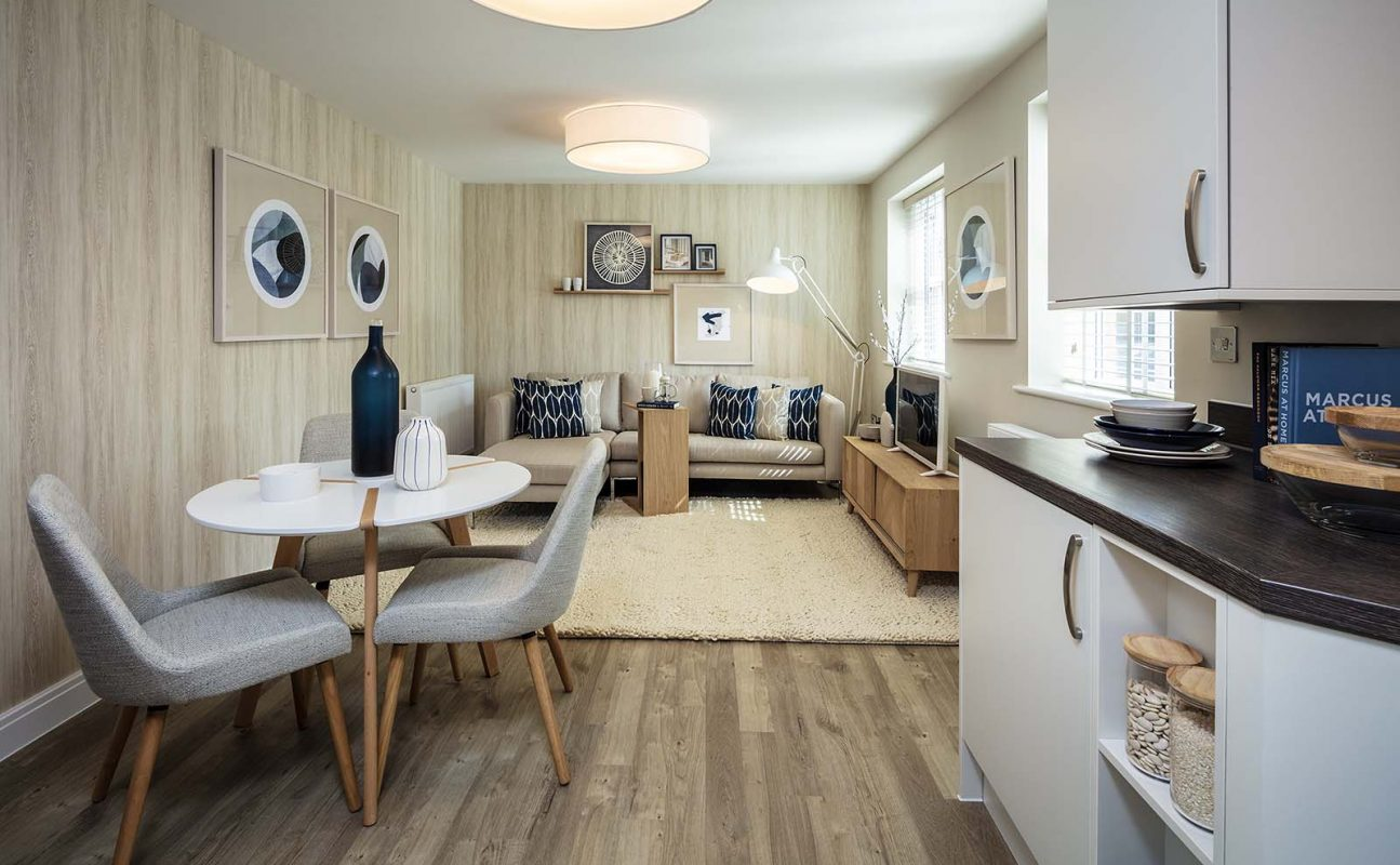 The Spires Showhome - Kitchen - Dining - Lounge 1